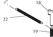 Return Spring for Ring Indexer code 13791