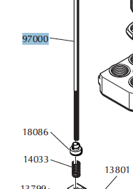 Dillon Failsafe Rod Assembly – Specify model