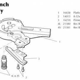 Dillon 650 Primer Seater Assembly – Specify Size