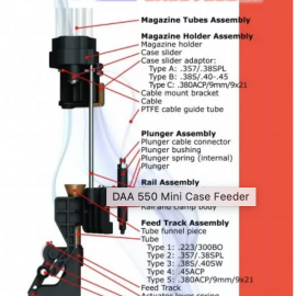 Double Alpha 550 Mini Case Feeder – Load Faster
